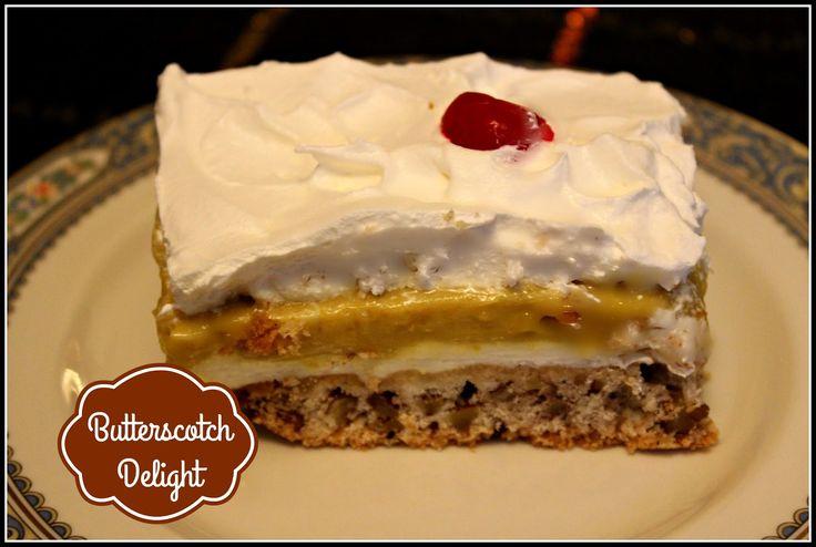 Sweet Tea and Cornbread: Butterscotch Delight!