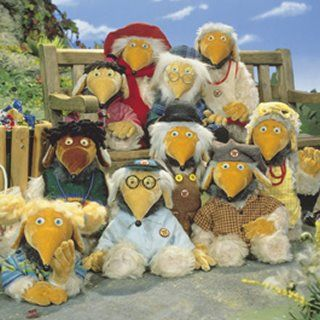 Wombles of Wimbeldom. Uncle Bulgaria, Madame Cholet, Tobermoray, Orinoco.  So this is a Womble!  They talked about them on Vicar of Dibley a lot, but I never knew what they were!