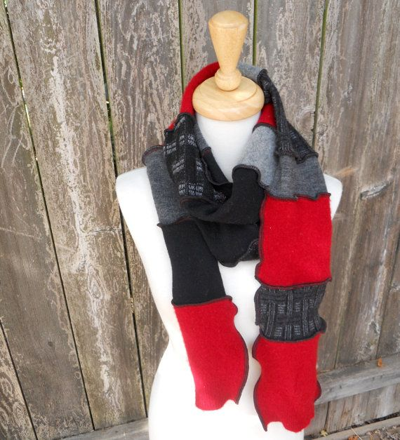 Recycled Sweater Scarf