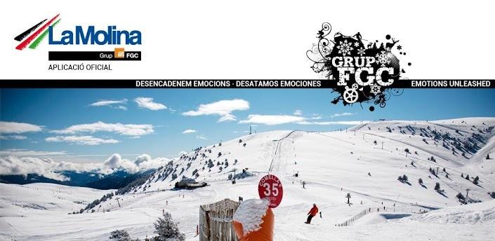 El estado de las pistas de esquí, La Molina App para iPhone y Android - Soft For Mobiles