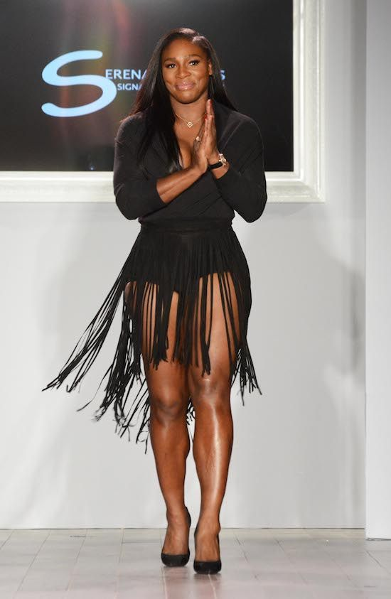 Serena Williams Fashion Show NYC Featuring: Serena Williams Where: New York City, New York, United States When: 15 Sep 2015 Credit: Patricia Schlein/WENN.com