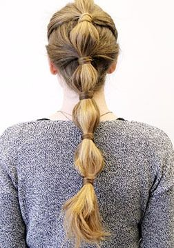 Holiday Hairstyles: 3 Party Ponytails you can DIY at home.