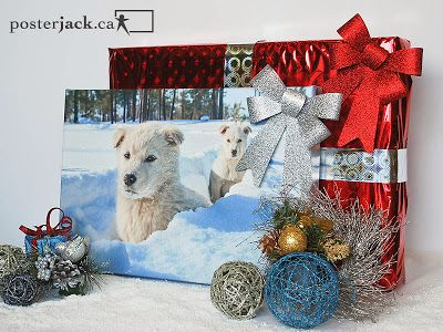 With a myriad of creative photo art ideas, holiday decorating and gift giving is easy thanks to Posterjack.ca.