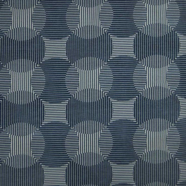 Warwick Fabrics : CIRRUS, Colour DENIM