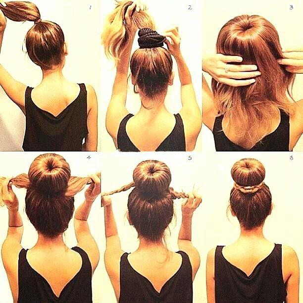 Peinado facil y bonito paso a paso :-)