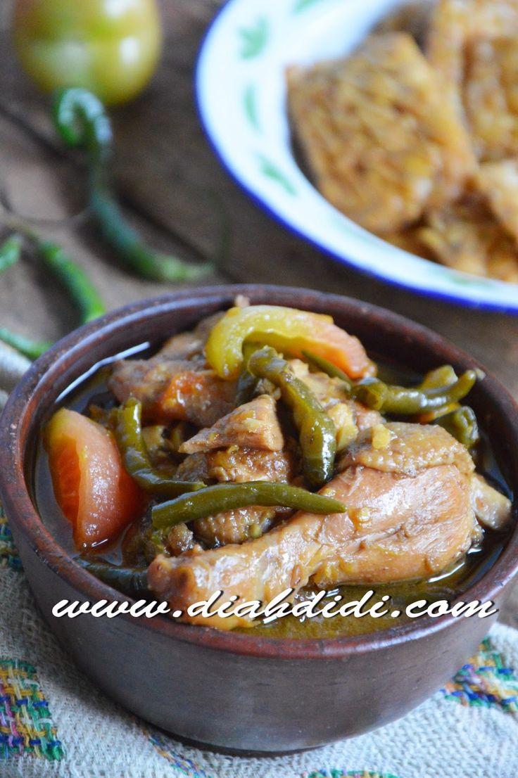 Diah Didi's Kitchen: Ayam Lombok Ijo