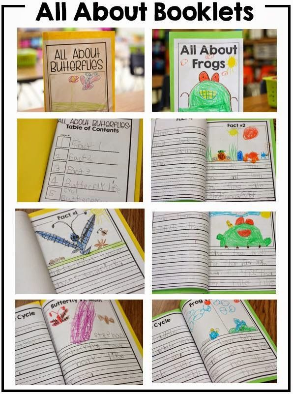 """Writing nonfiction """"all about"""" booklets!"""