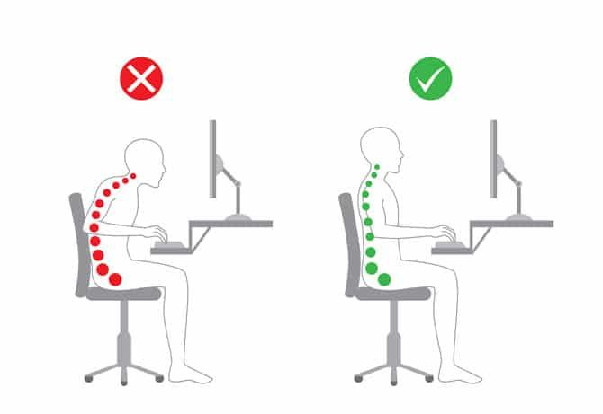 #Howto maintain a neutral spine in different positions #backpain #chronicpain #ergonomics