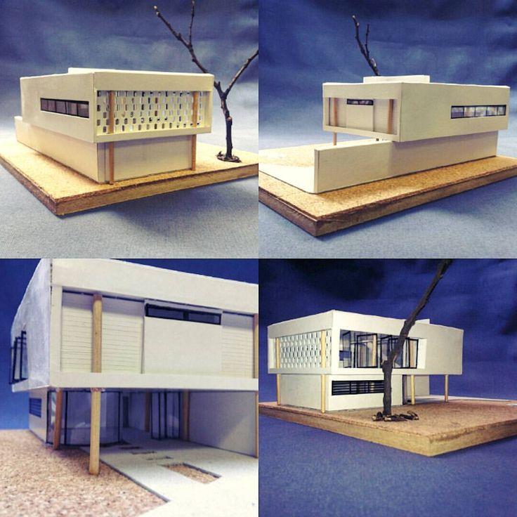 Projeto Casa para Professor Visitante - Princípios Corbusianos .... House Project for Visiting Professor - Corbusian Principles