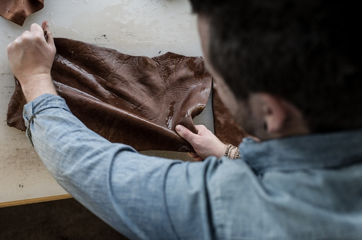 Rage has a unique passion when it comes to refining leather.