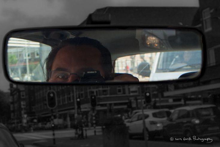 Selfie - Amsterdam - Rijdend  by EMR Photography www-fotomodelmarijn-com