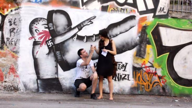 """""""Street art in Exarchia"""" (film) Direction George Fiorakis, Athens-Greece"""