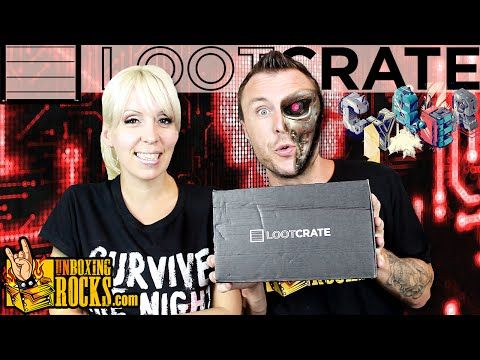 "Loot Crate June 2015 ""Cyber"" Unboxing Review"