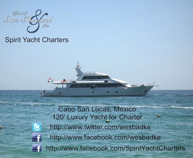 Spirit Yacht Charters #SpiritYachtCharters, We offer day and overnight #Yacht Yacht Charters in #Cabo, Cabo Mexico #Mexico.