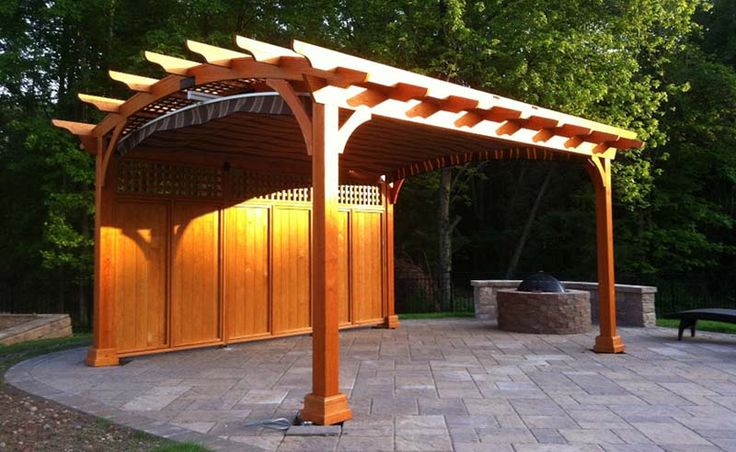 26 Best Pergolas Images On Pinterest Outdoor Ideas
