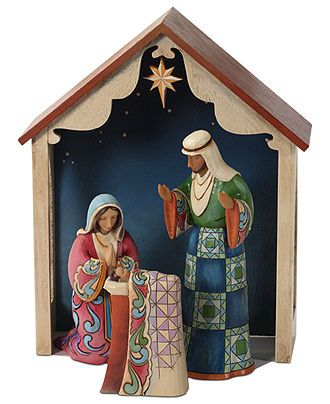 Jim Shore Nativity Scene, 4 Piece - Jim Shore Collection - Holiday Lane - Macy's
