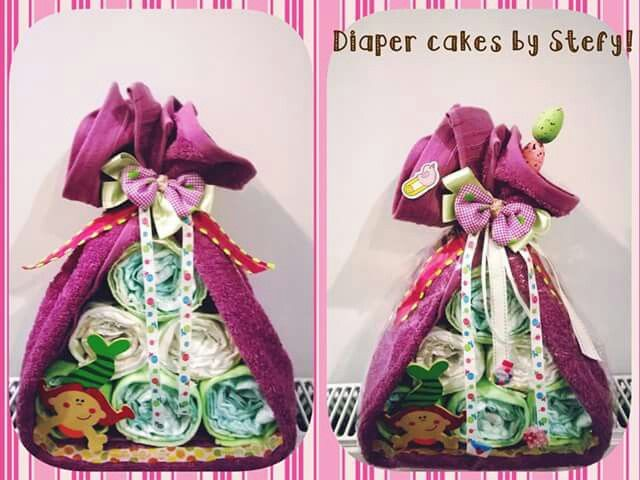 Diaper cakes by stefy -------->facebook