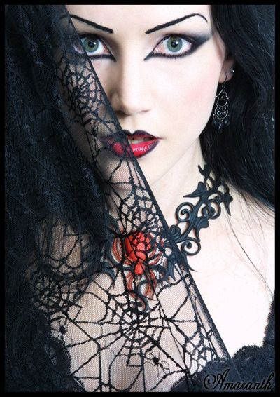 Goth: #Goth beauty. #gothic #women #beauty