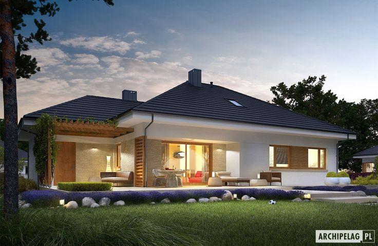 Projekty domów ARCHIPELAG - Flo III G1