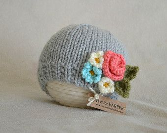Bunny Flower Crown Hat MADE TO ORDER Flower Hat by HisforHARPER
