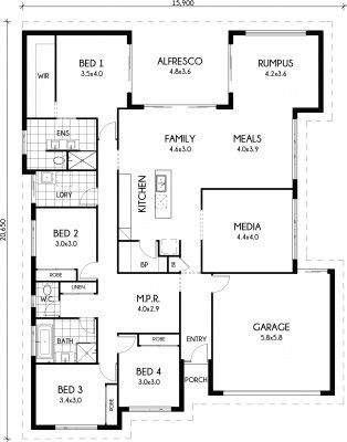 Butler pantry Floor plans  and Pantry on Pinterest
