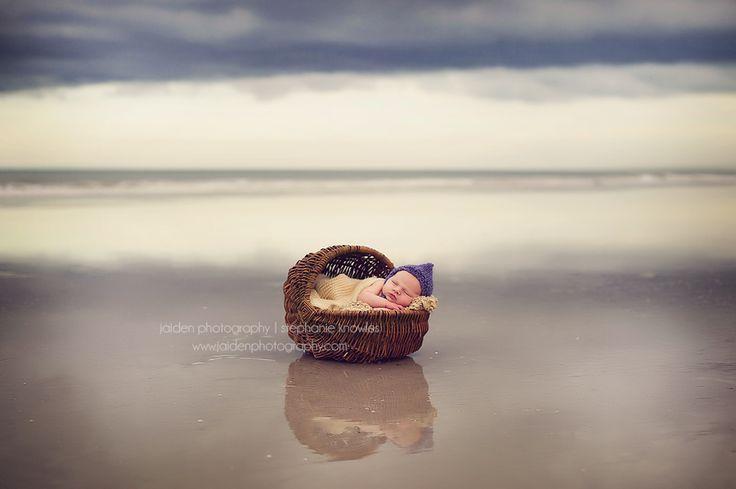 "http://learnshootinspire.com/ ""one a day"" winner by Jaiden Photography on Facebook! #newborn #beach #photography"