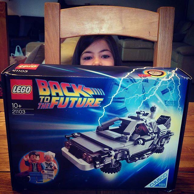 It's my birthday and the family got me some BTTF Lego! #lego #bttf #birthday #wroxham #norfolkbroads #norfolk