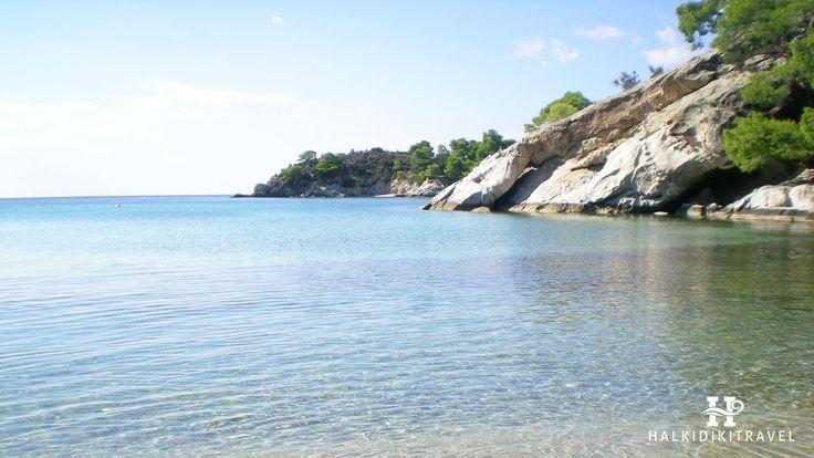 #Spathies #beach in #Halkidiki. Visit www.halkidikitravel.com for more info. #HalkidikiTravel #travel #Greece