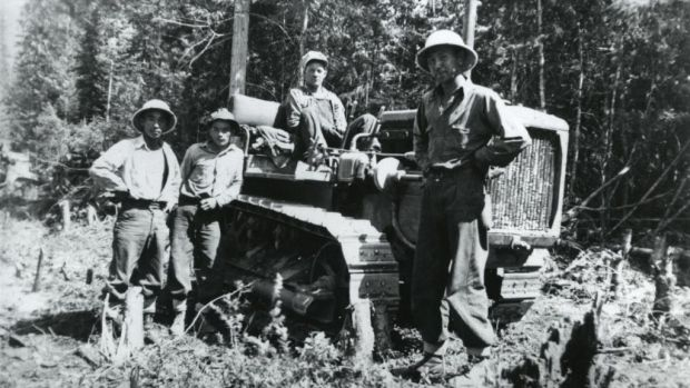 The Eagle Pass/Revelstoke-Sicamous Highway Camp is one of 56 Japanese-Canadian historic places in B.C. now recognized by the provincial government. 346 Japanese and Japanese Canadian workers built this section of the TransCanada Highway during internment.