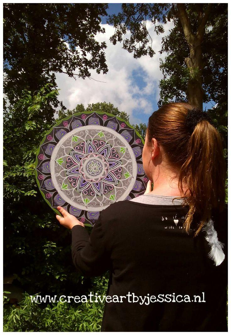 Boho-energy-circle nmr 11 Www.creativeartbyjessica.nl #boho #bohostyle #hippie #hippieart #bohochic #ibiza #ibizastyle #mandala #mandalas #mandalaart #yoga #meditation #welness #design #handmade #ibizablogger #meditatie #fashion #decoratie #art #kunst #lifestyle #roundie #healing #painting #buddha #boeddha #schilderij #painting #art #kunst #bohemian