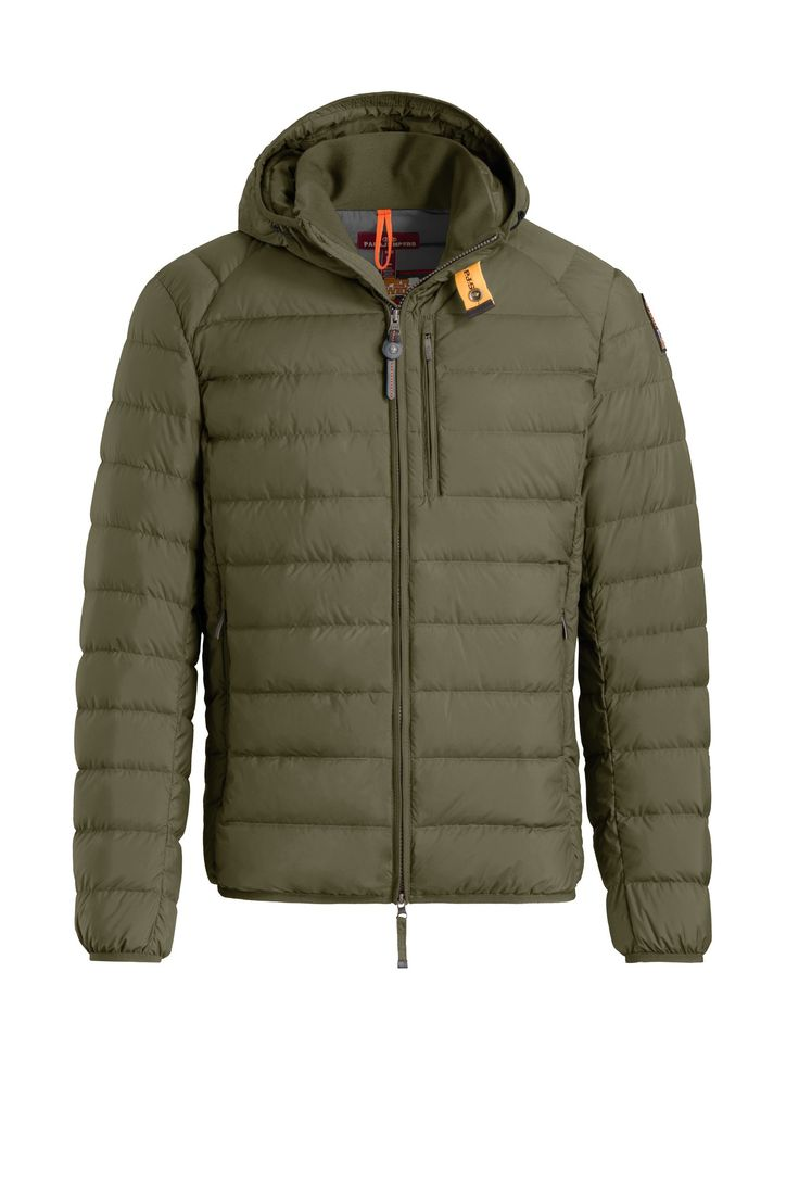 Rabatt Green Last Minute Hooded Down Jacket for menn fra Parajumpers