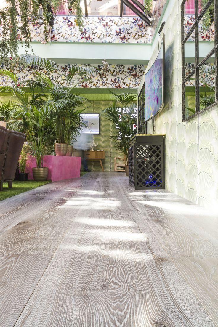 #Gratoparquet #Suelodemadera #GratoXXL Acero viejo. Instalado en el espacio nº 10 Samsung de #Casadecor2015 del diseñador Guillermo Garcia-Hoz