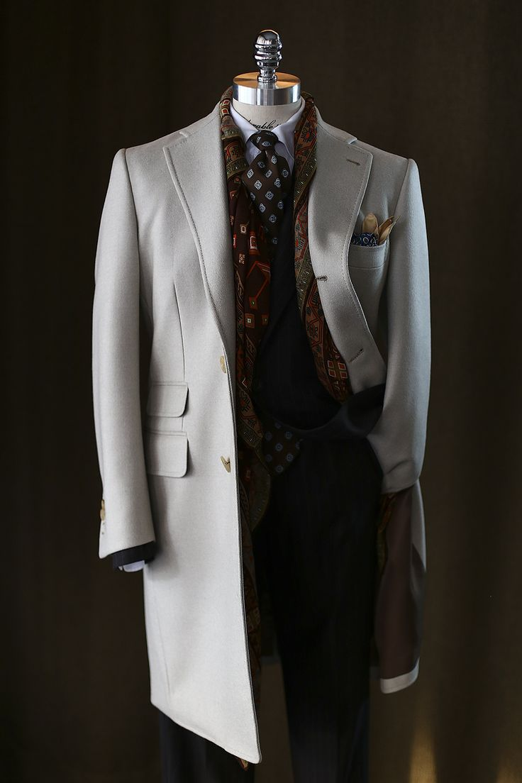"The Style Buff // by Gianni Fontana — tailorablenco: "" Cream Coat: 'Holland&Sherry..."