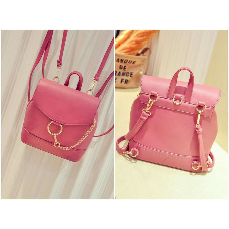 PU LEATHER SIZE LENGTH 23 HEIGHT 25 DEPTH 9 STRAP 130 WEIGHT 700GR PINK PRICE 165K