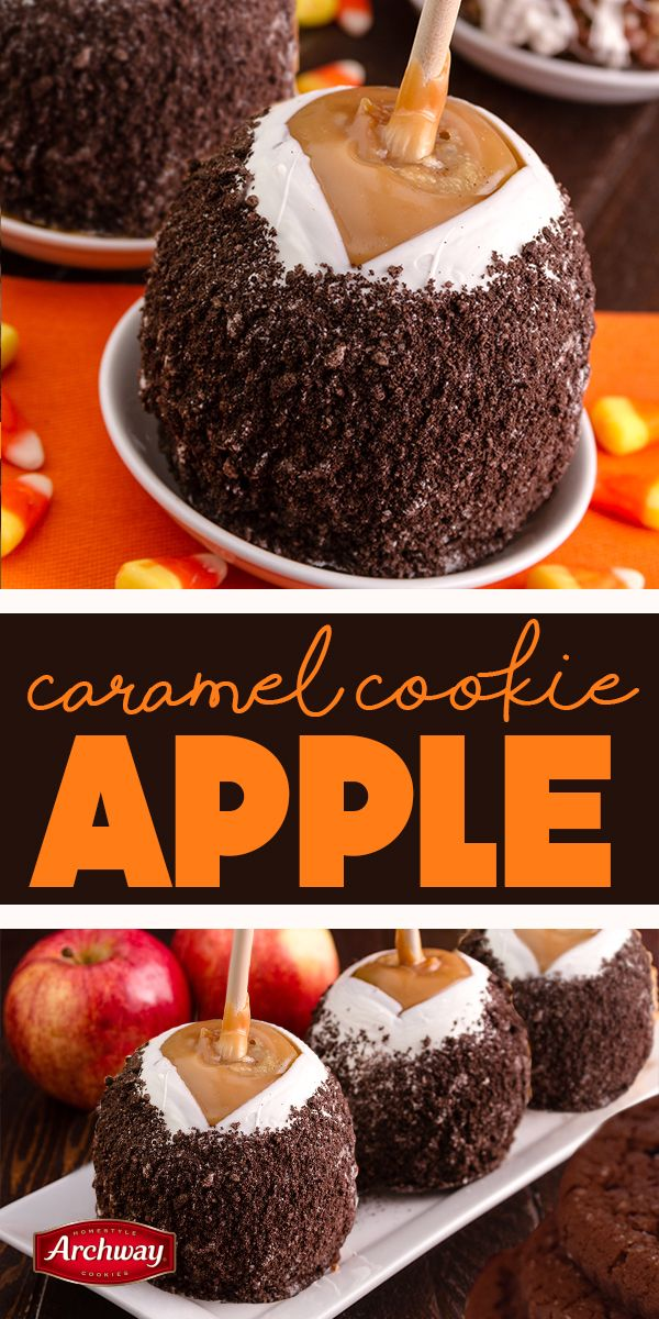 All the fun of fall on a stick! Start by dipping an apple in caramel sauce and let harden in the freezer for a half hour. Dip in white chocolate and roll in crushed Archway cookies! May we recommend Dutch Cocoa?