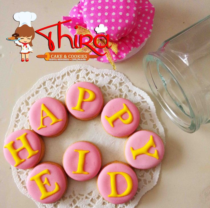 Decorated cookies.. Alphabet, letter cookies