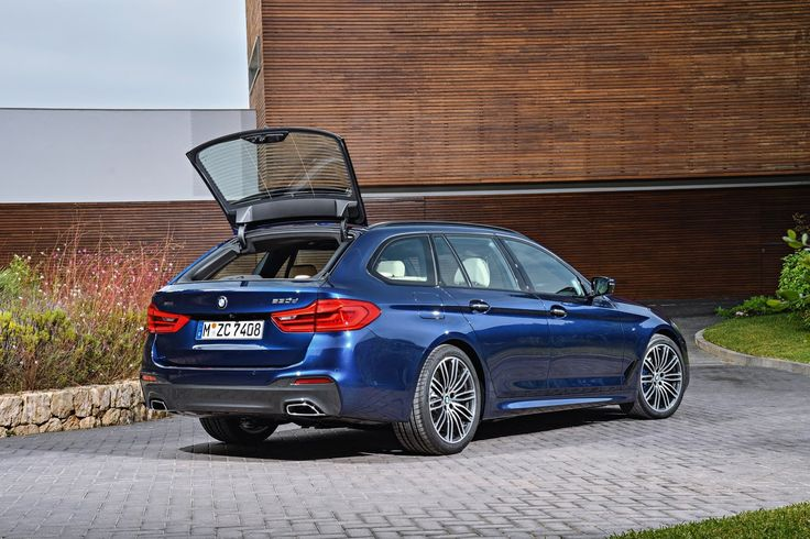 New 2017 BMW 5-Series Touring Is A Suave Load Lugger