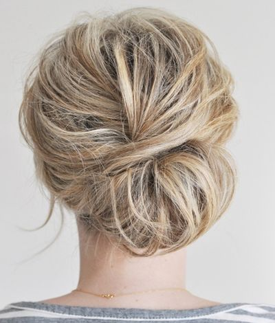 The Messy Chignon