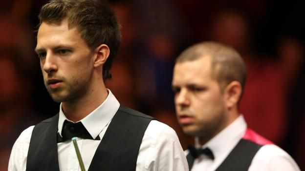 England's team of Judd Trump and Barry Hawkins won 22 frames and lost just three in their five group matches England will face Northern Ireland in Saturday's quarter-finals of the Snooker World Cup in China. The English pairing of Judd Trump and Barry Hawkins topped Group C and come...