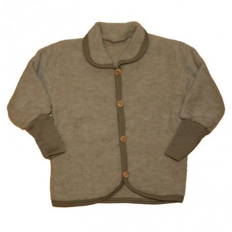 Jacket, merino wool, brown, Cosilana