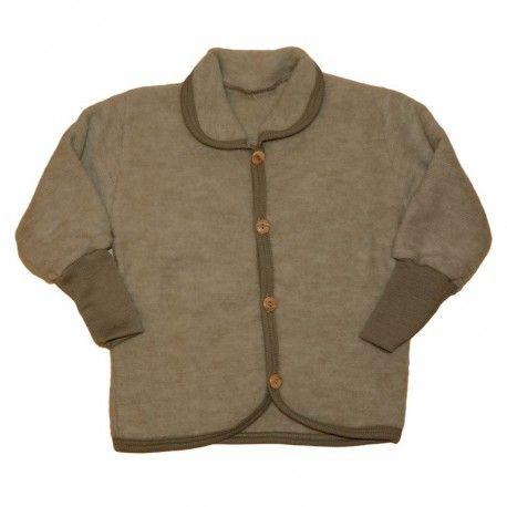 Jacket, merino wool, brown, Cosilana