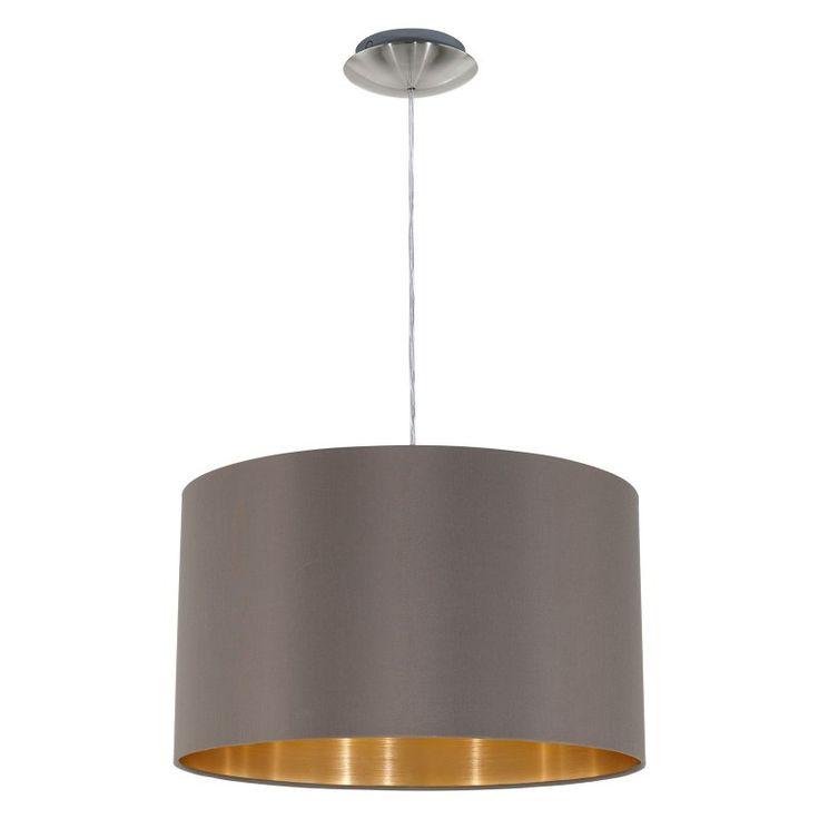 Eglo Maserlo Drum Pendant Light - 31603A