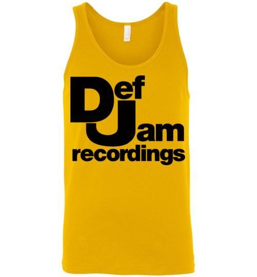 Def Jam Recordings Classic Hip Hop Run Dmc Beastie Boys Public Enemy Kanye West Rick Ross ,v2, Canvas Unisex Tank