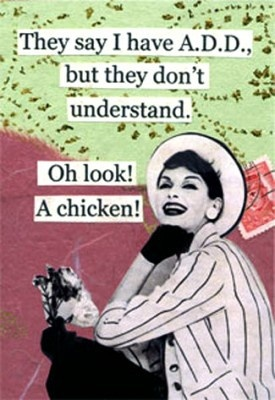 Laugh, Funny Chicken Quotes, Life Ha, Add Adhd, Add Darceyjefferson, Funny Stuff, Things, Add Geneijm, Add Mildredfostreet