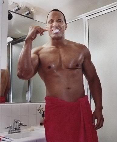 Confirm. The rock hot naked understood not