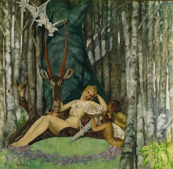Fernand Hertenberger /// Goddess Diana