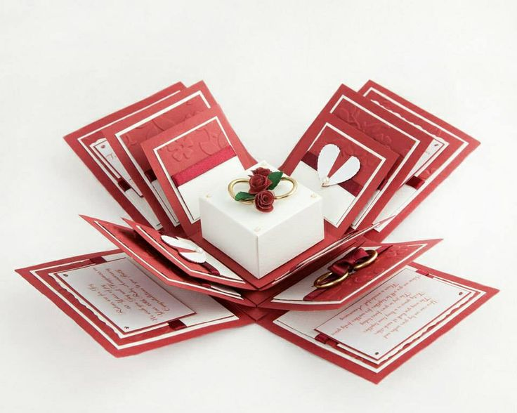 Traditional Ruby Wedding Gifts: Ruby Wedding Anniversary Exploding Box From Www