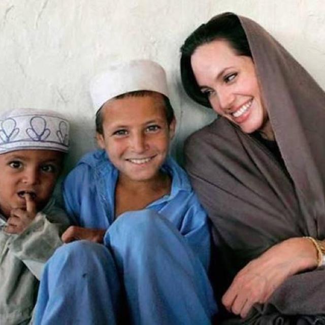 Angelia Julie in Pakistan