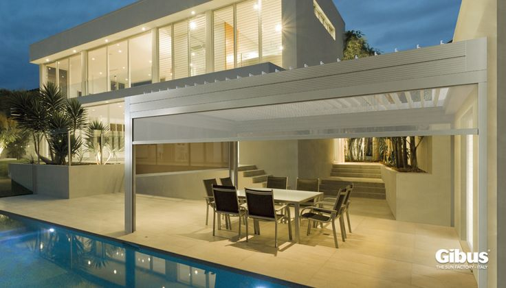Med Twist - Opening Louvre Roof System.