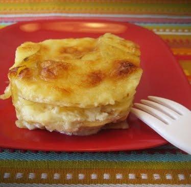 Muffin-tin au gratin potatoes Ingredients: 2 large russet potatoes ...